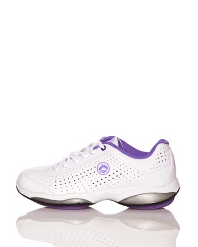 J'Hayber Zapatillas Walking Well Blanco / Morado