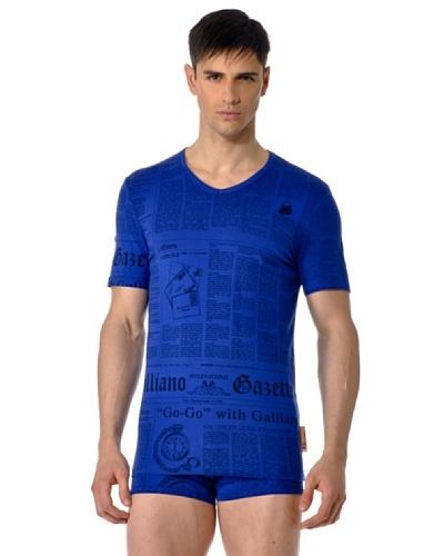 John Galliano Camiseta Manga Corta Cuello V