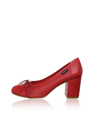 Jonny's Zapatos Tacón Rojo