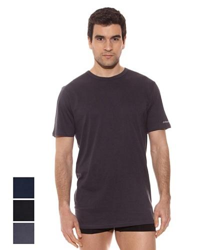 Kappa Pack 3 Camisetas mc Caballero Cuello Redondo 100% Algodón