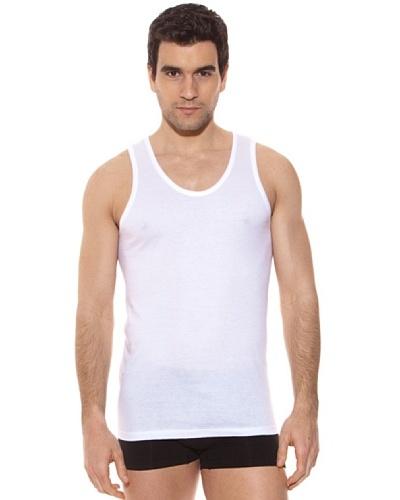 Kappa Camiseta tirantes Caballero Redondo Cuello Redondo 100% Algodón