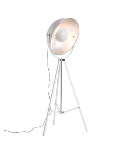 Kare Design Lámpara De Pie Bowl Blanca