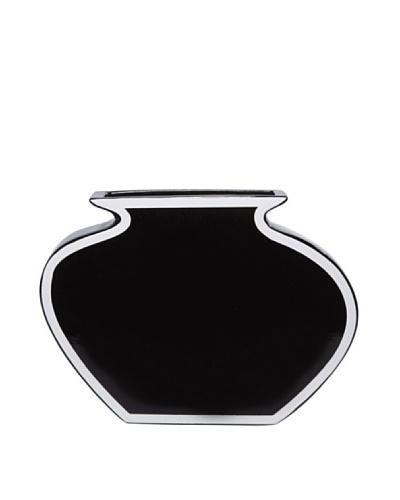 Kare Florero negro con marco