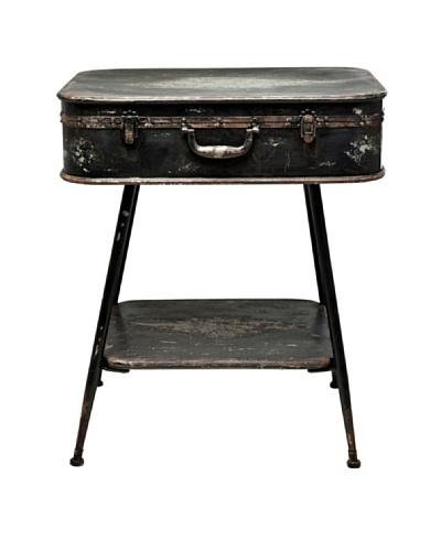 Kare Consola de metal con forma de maleta