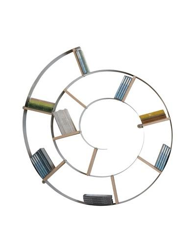 Kare Estantería de Pared en Espiral (75 x 75 x 13 cm)