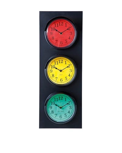 Kare Design Reloj Pared Traffic Light