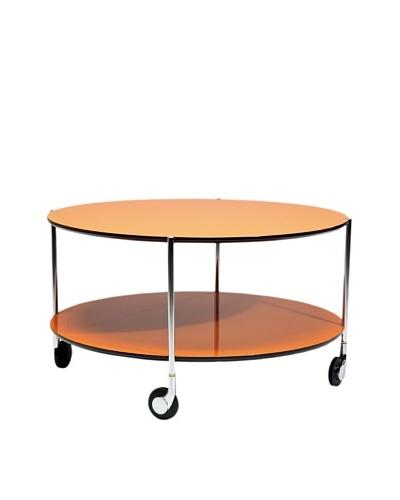 Kare Design Mesa De Café Doppio Naranja Ø 80 Cm