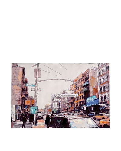 Kare Cuadro Picture NY Eastvillage 80x120cm