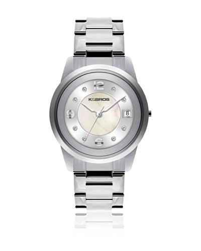 K&Bros  Reloj 9182 Blanco