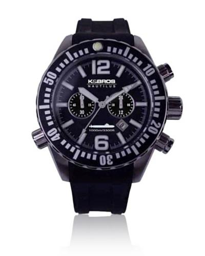 K&Bros Reloj 9900 Negro