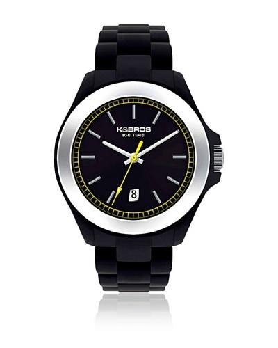K&BROS Reloj 9549 Negro