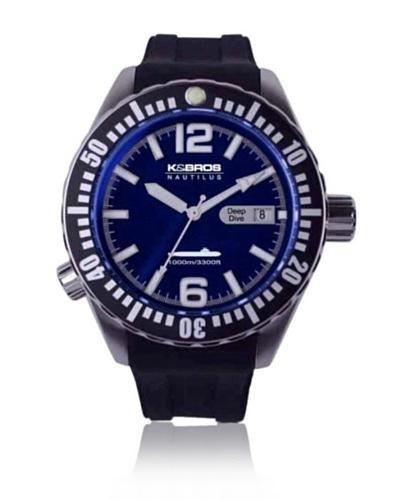 K&Bros Reloj 9901 Azul
