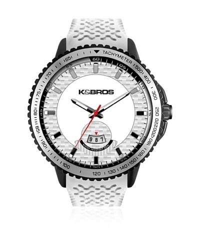 K&BROS Reloj 9458 Negro Blanco