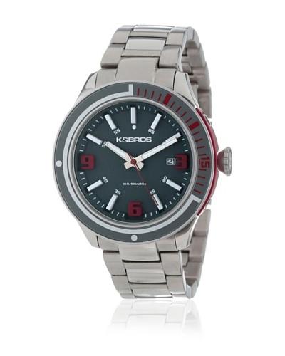K&BROS Reloj 9488 Gris