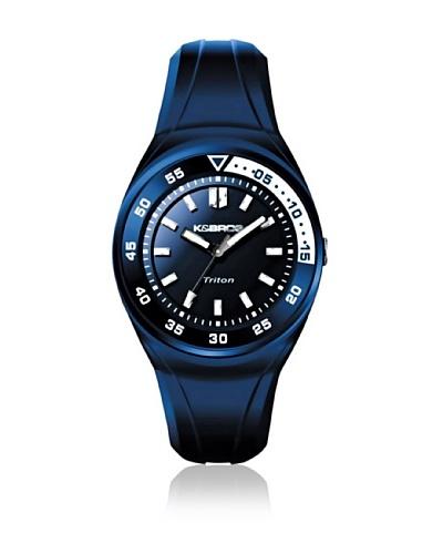 K&Bros Reloj 9475 Azul Blanco