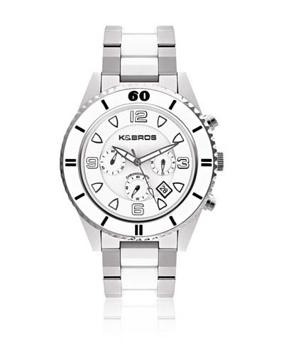 K&Bros  Reloj 9136 Blanco
