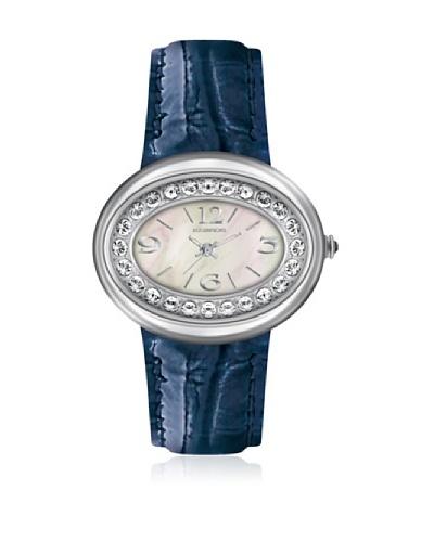 K&Bross 9158-2 Reloj de Señora movimiento de cuarzo con correa de piel
