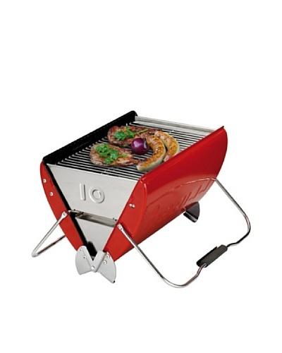 Küchenprofi Barbacoa De Carbón De Diseño Rojo