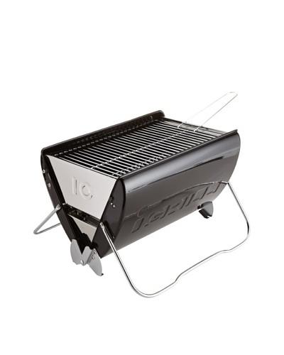 Küchenprofi Barbacoa De Carbón De Diseño Negro