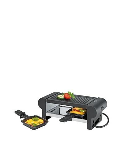 Küchenprofi Raclette «Duo» Con 2 Sartenes Negro