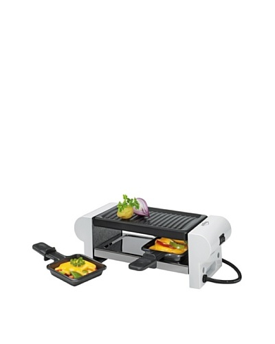 Küchenprofi Raclette «Duo» Con 2 Sartenes Blanco