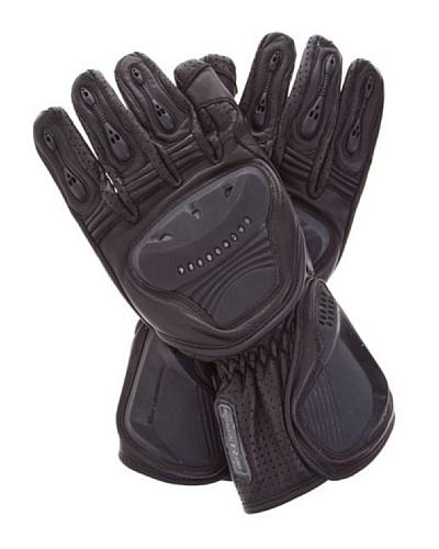 Kenrod Guantes Protecciones y Ajuste Velcro Negro