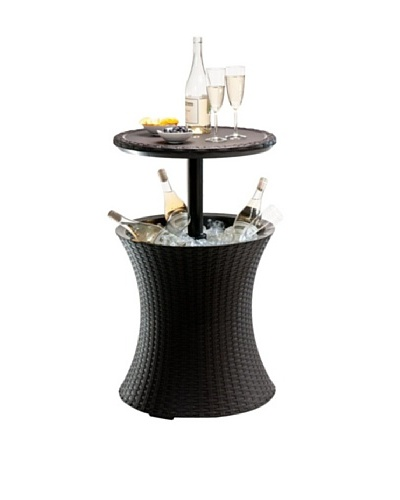 Keter Cool Bar Rattan Gris