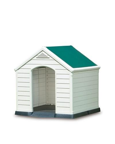 Keter 17360369 – Caseta para perro, color beige/verde