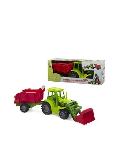 Kidzcorner Tractor con remolque y pala