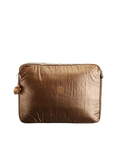 "Kipling Dgi Sleeve 17"" Laptop Sleeve Bronce Brillante"