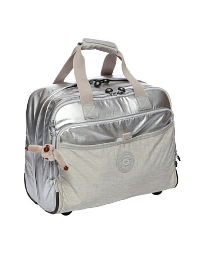 Kipling Women's New Ceroc Laptop Bag Plata