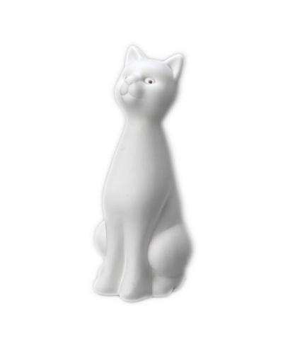 Korb Lámpara Porcelana Gato