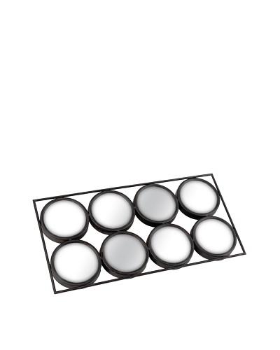 Korb Cuadro 8 Espejos Redondos 68x35 Cm