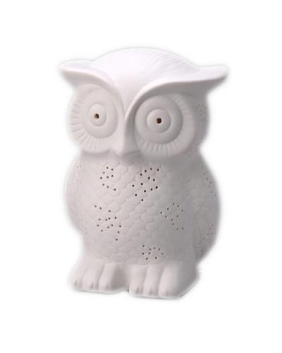Korb Lámpara Porcelana Buho