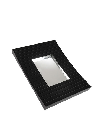 Korb Espejo Negro Curvado