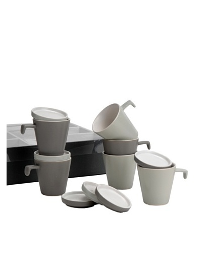 Korb Caja 6 Tazas Café 2ca