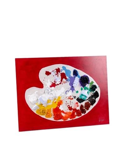 Korb Lienzo Paleta De Colores