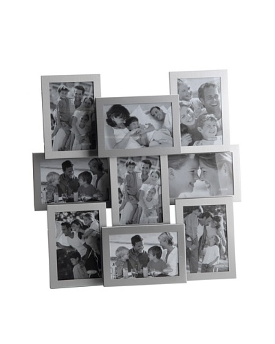 Korb Portafotos 9 Fotos Aluminio 47x48 Cm