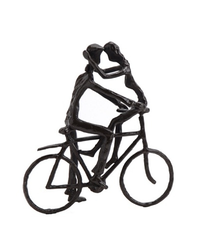 Korb Estatuilla Enamorados Bici