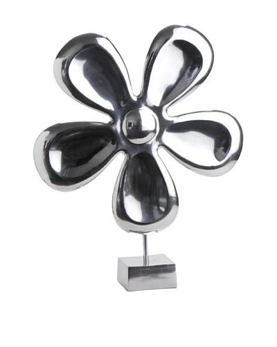 Korb Flor Con Pie Aluminio 65 cm