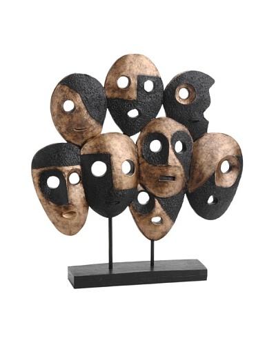 Korb Escultura Caras