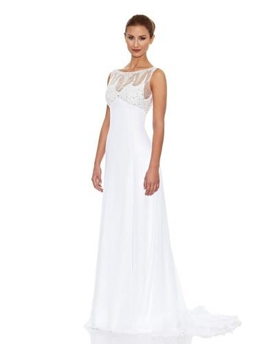 KOTOSH Vestido de Novia en Chiffón de Satén corte Slip Dress
