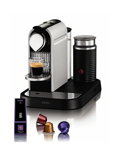 Nespresso Citiz & Milk Titan XN730TP4 Krups - Cafetera monodosis (19 bares)