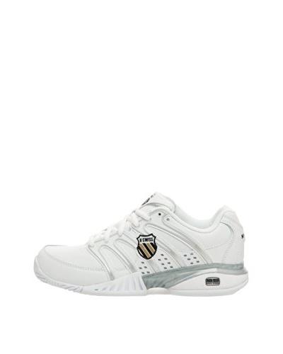 K-Swiss Zapatillas Ii Tennis Sports Blanco / Negro / Plata / Oro