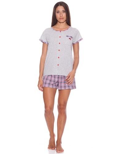 Kumy Pijama Señora Cuadros