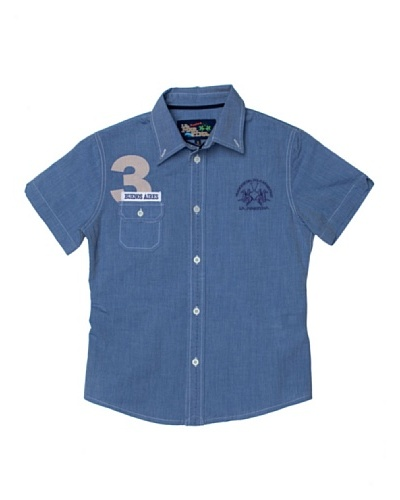 La Martina Camisa Denim