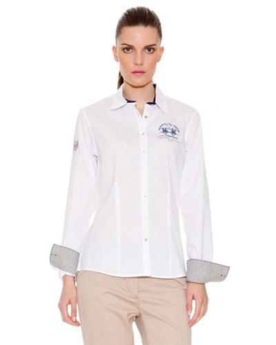 La Martina Camisa Básica Blanco