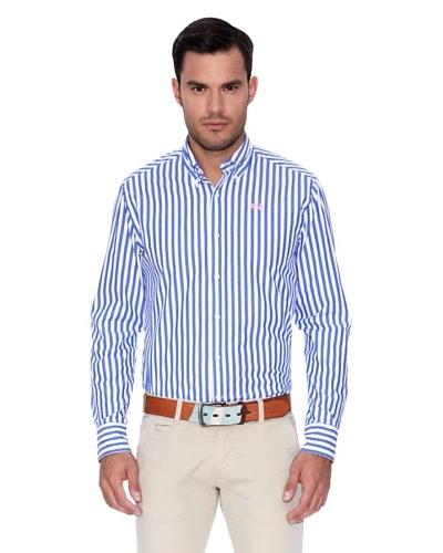 La Martina Camisa Wendell Azul / Blanco