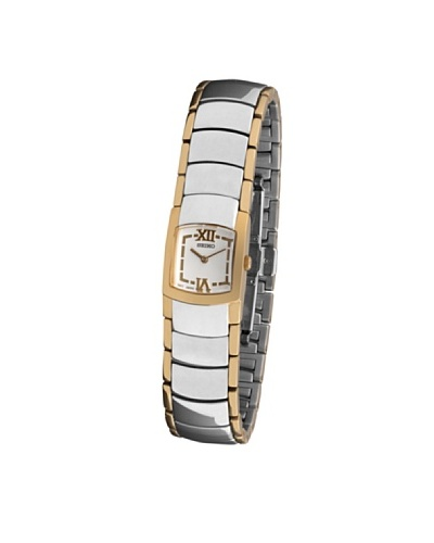 Seiko 70058 – Reloj de Señora movimiento de cuarzo con brazalete metálico