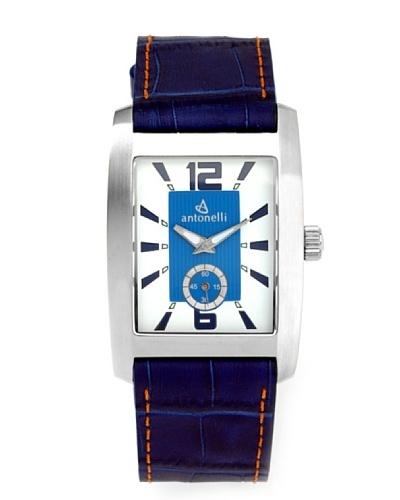 ANTONELLI 900001 – Reloj de Caballero movimiento de cuarzo con correa de piel